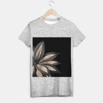 Miniaturka Agave Finesse Glitter Glam #8 #tropical #decor #art  T-Shirt regulär, Live Heroes