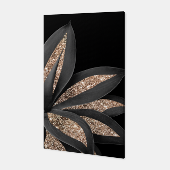 Miniaturka Agave Finesse Glitter Glam #8 #tropical #decor #art  Canvas, Live Heroes