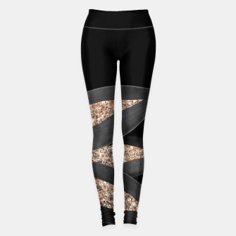 Miniaturka Agave Finesse Glitter Glam #8 #tropical #decor #art  Leggings, Live Heroes