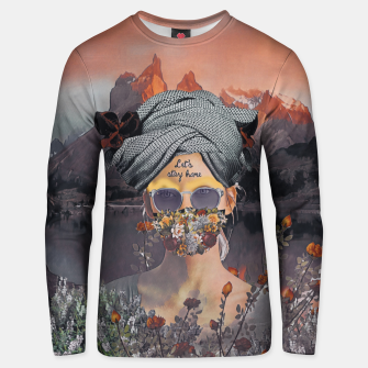Thumbnail image of Stay home Unisex sweater, Live Heroes