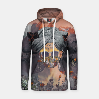 Thumbnail image of Stay home Hoodie, Live Heroes