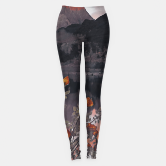 Miniatur Stay home Leggings, Live Heroes