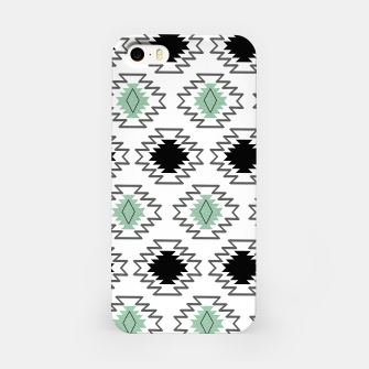 Imagen en miniatura de Minimal Tribal Boho Pattern Chic #1 #aztec #decor #art  iPhone-Hülle, Live Heroes