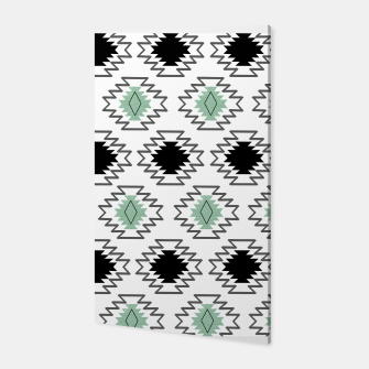Miniaturka Minimal Tribal Boho Pattern Chic #1 #aztec #decor #art  Canvas, Live Heroes