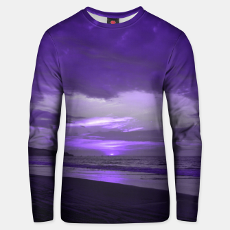 Thumbnail image of Purple Sunset by #Bizzartino Unisex sweater, Live Heroes