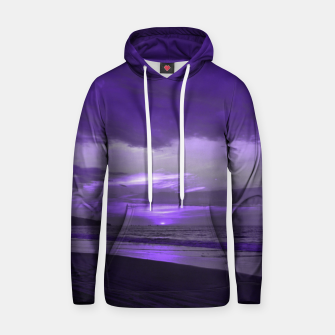 Thumbnail image of Purple Sunset by #Bizzartino Hoodie, Live Heroes