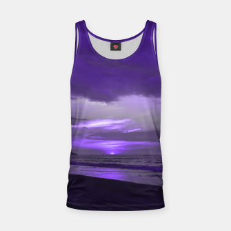 Thumbnail image of Purple Sunset by #Bizzartino Tank Top, Live Heroes