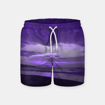Thumbnail image of Purple Sunset by #Bizzartino Swim Shorts, Live Heroes