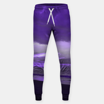 Thumbnail image of Purple Sunset by #Bizzartino Sweatpants, Live Heroes