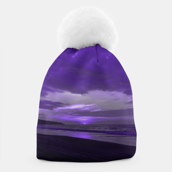 Thumbnail image of Purple Sunset by #Bizzartino Beanie, Live Heroes