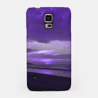 Imagen en miniatura de Purple Sunset by #Bizzartino Samsung Case, Live Heroes