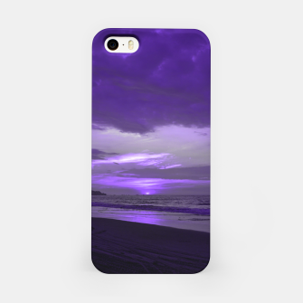 Thumbnail image of Purple Sunset by #Bizzartino iPhone Case, Live Heroes