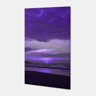 Thumbnail image of Purple Sunset by #Bizzartino Canvas, Live Heroes