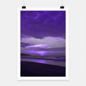 Thumbnail image of Purple Sunset by #Bizzartino Poster, Live Heroes