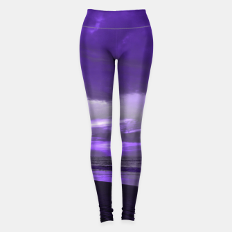 Thumbnail image of Purple Sunset by #Bizzartino Leggings, Live Heroes