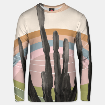 Cactus in the Desert #2 #tropical #wall #art Unisex sweatshirt obraz miniatury