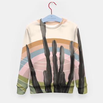 Miniaturka Cactus in the Desert #2 #tropical #wall #art Kindersweatshirt, Live Heroes