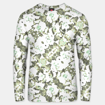 Thumbnail image of Modern Abstract Camo Print Pattern Unisex sweater, Live Heroes