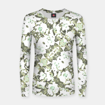 Miniaturka Modern Abstract Camo Print Pattern Women sweater, Live Heroes