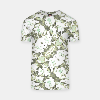 Thumbnail image of Modern Abstract Camo Print Pattern T-shirt, Live Heroes
