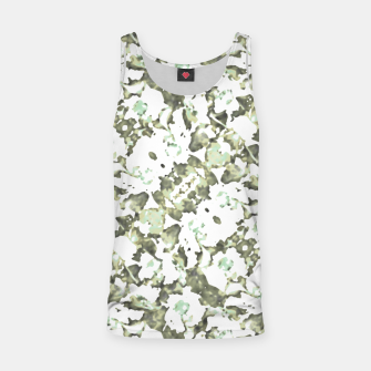 Miniaturka Modern Abstract Camo Print Pattern Tank Top, Live Heroes