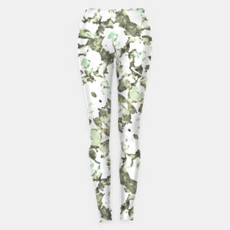 Thumbnail image of Modern Abstract Camo Print Pattern Leggings, Live Heroes