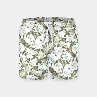 Miniaturka Modern Abstract Camo Print Pattern Swim Shorts, Live Heroes
