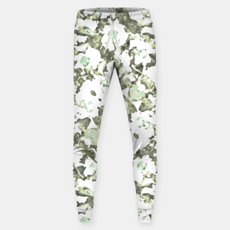 Thumbnail image of Modern Abstract Camo Print Pattern Sweatpants, Live Heroes