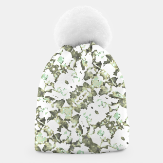 Thumbnail image of Modern Abstract Camo Print Pattern Beanie, Live Heroes