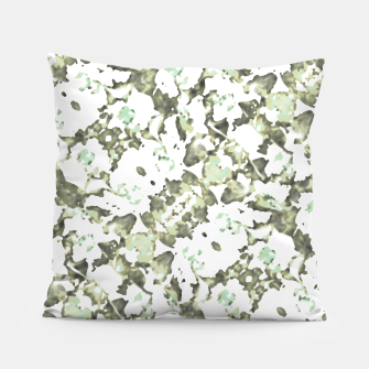 Thumbnail image of Modern Abstract Camo Print Pattern Pillow, Live Heroes