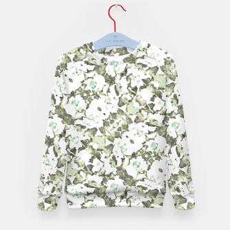 Thumbnail image of Modern Abstract Camo Print Pattern Kid's sweater, Live Heroes