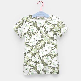 Thumbnail image of Modern Abstract Camo Print Pattern Kid's t-shirt, Live Heroes