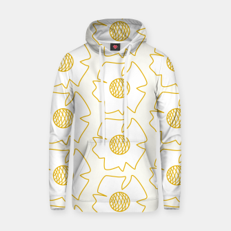 Imagen en miniatura de White flowers on light yellow  Sudadera con capucha, Live Heroes