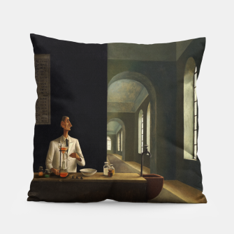 Thumbnail image of The Chemist by Franz Sedlacek Pillow, Live Heroes