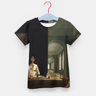 Thumbnail image of The Chemist by Franz Sedlacek Kid's t-shirt, Live Heroes