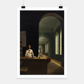 Thumbnail image of The Chemist by Franz Sedlacek Poster, Live Heroes