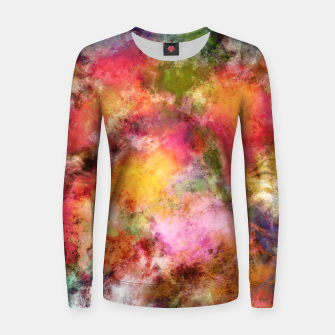 Imagen en miniatura de Lovely flowers Women sweater, Live Heroes