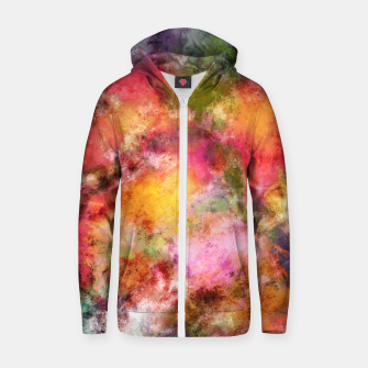 Thumbnail image of Lovely flowers Zip up hoodie, Live Heroes