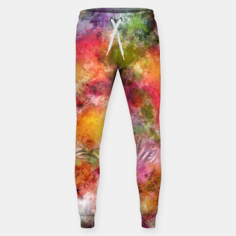 Thumbnail image of Lovely flowers Sweatpants, Live Heroes