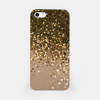 Imagen en miniatura de Sparkling Gold Brown Glitter Glam #1 (Faux Glitter) #shiny #decor #art  iPhone-Hülle, Live Heroes