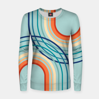 Miniaturka Rainbow Arch Minimal Abstract #2a #decor #art  Frauen sweatshirt, Live Heroes