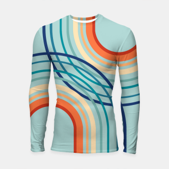 Miniaturka Rainbow Arch Minimal Abstract #2a #decor #art  Longsleeve rashguard, Live Heroes