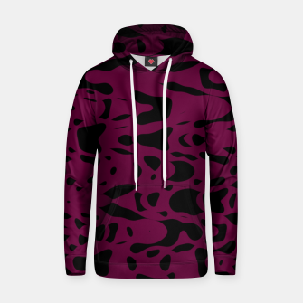 Imagen en miniatura de Plum purple, black particles drifting into the space, floating pieces, abstract texture design Hoodie, Live Heroes