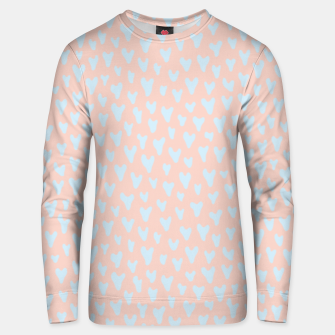 Thumbnail image of Painted Tender Hearts Unisex sweater, Live Heroes