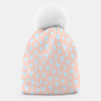 Thumbnail image of Painted Tender Hearts Beanie, Live Heroes