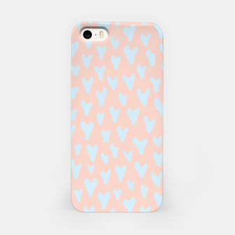 Imagen en miniatura de Painted Tender Hearts iPhone Case, Live Heroes