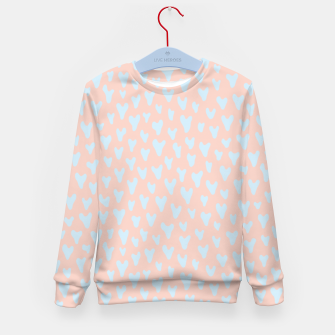 Thumbnail image of Painted Tender Hearts Kid's sweater, Live Heroes