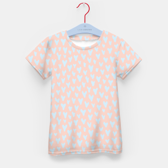 Thumbnail image of Painted Tender Hearts Kid's t-shirt, Live Heroes
