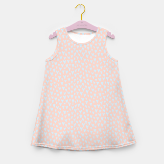 Thumbnail image of Painted Tender Hearts Girl's summer dress, Live Heroes
