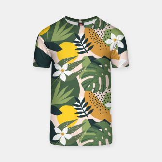 Imagen en miniatura de Tropical nature graphic Camiseta, Live Heroes